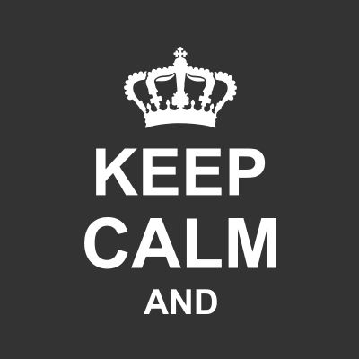 Keep Calm Magliette